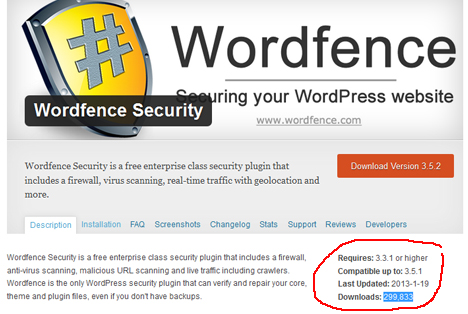WordPress Security Plugin