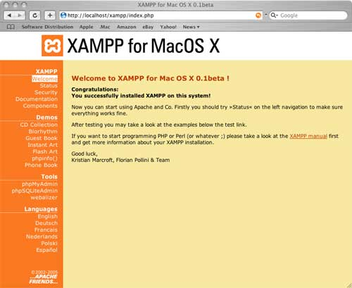 xampp for mac