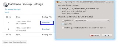WP_Database_Backup