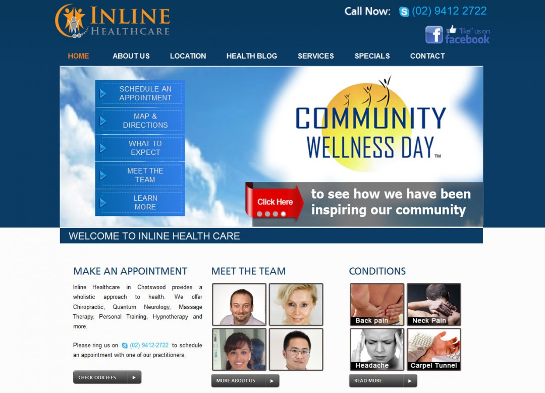 Inline Health Care 2014