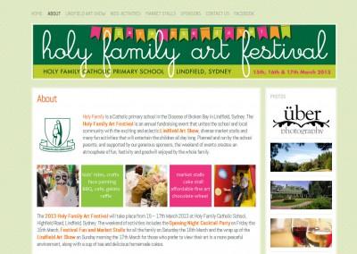 Holy Family Art Festival 2014
