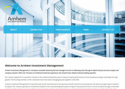 Arnhem Investment Management 2015