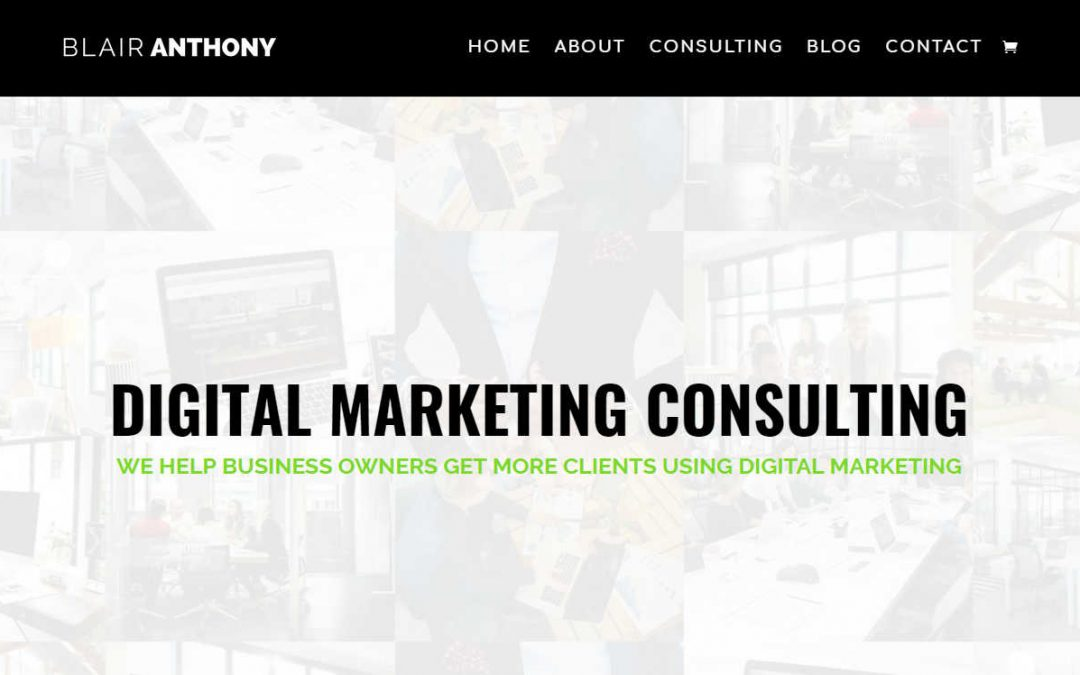 Blair Anthony – Marketing & Consulting