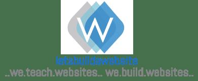 Lets Build a Website