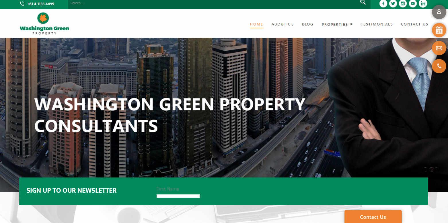 washington green property