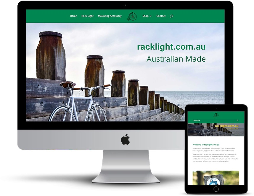 Racklight  – Website Creation