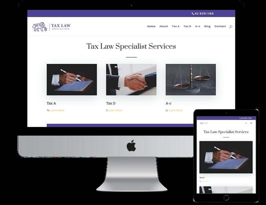 Tax Law Specialists