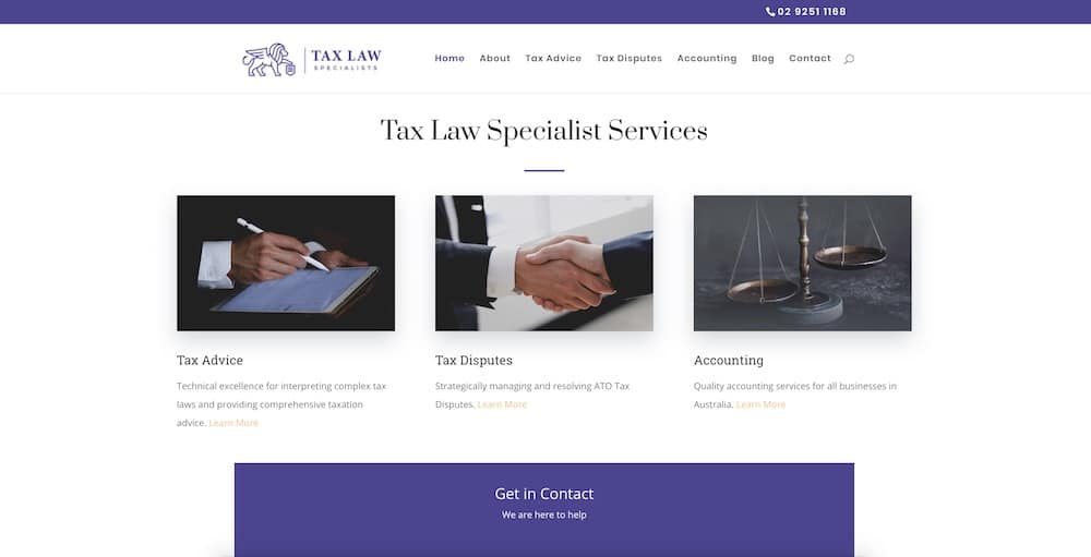 Tax Law Specialists