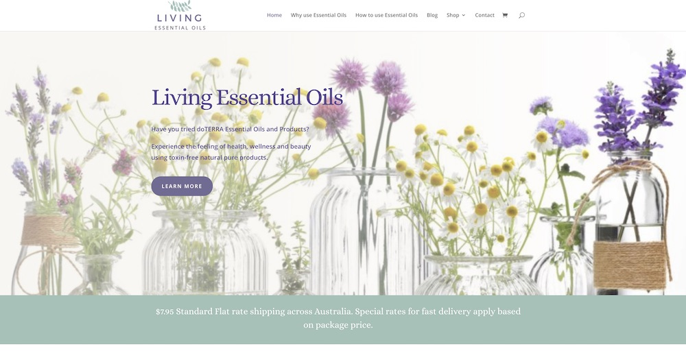 Living Essential Oils
