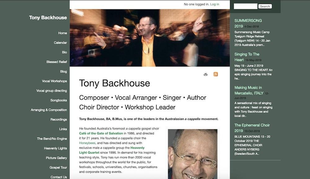 Tony Backhouse