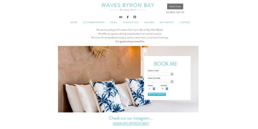 waves byron bay