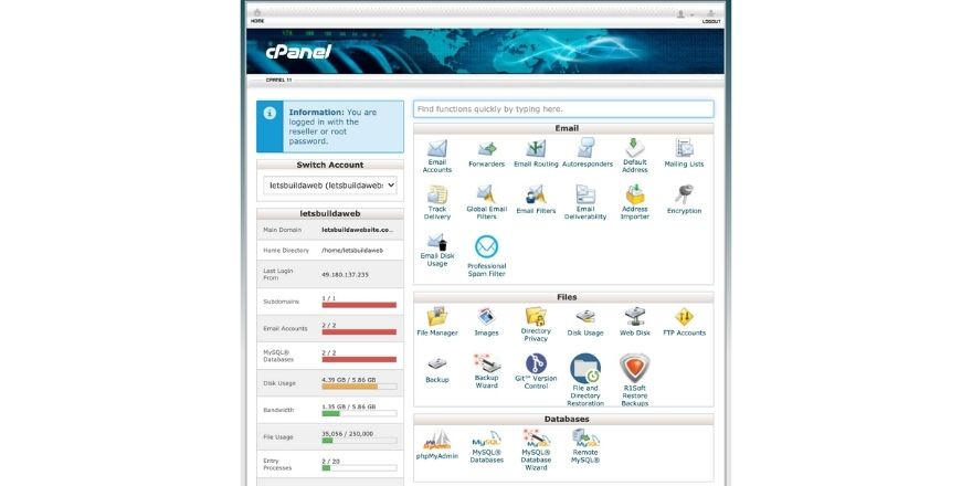 add a subdomain on Cpanel