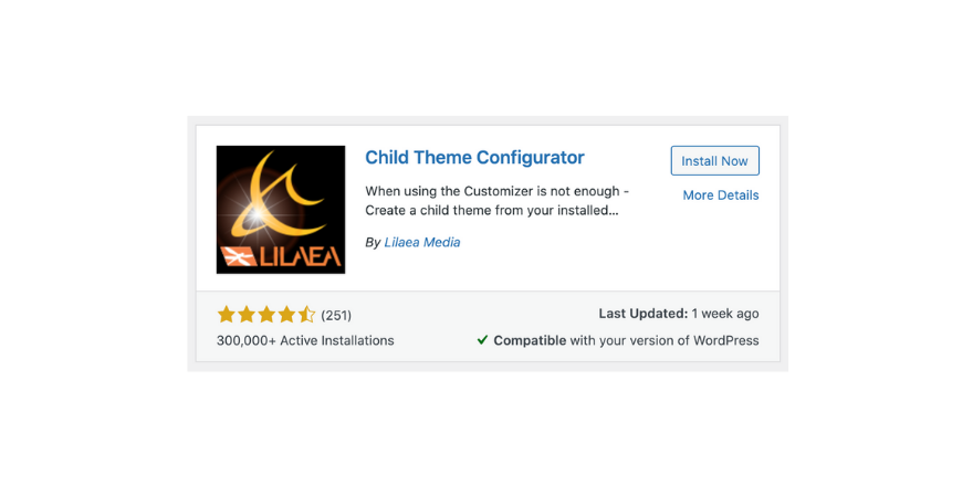 How to Install a Child Theme
